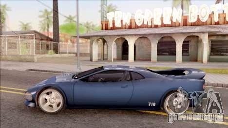 Infernus from GTA III HD для GTA San Andreas вид слева