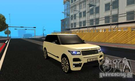 Range Rover Vogue Armenian для GTA San Andreas