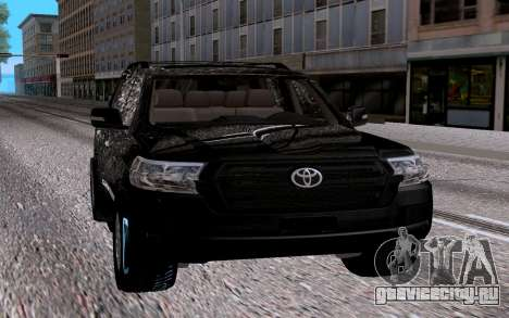 Toyota Land Cruiser 200 V6 для GTA San Andreas