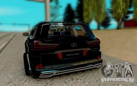 Lexus LX 570 для GTA San Andreas