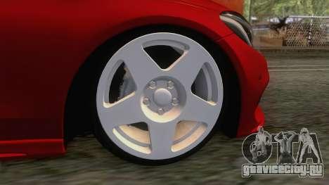 Mercedes-Benz C250 Stance для GTA San Andreas вид сзади