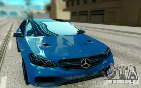 Mercedes-Benz E63 4matic для GTA San Andreas