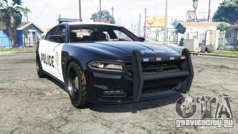Dodge Charger RT 2015 Police v2.0 [replace] для GTA 5