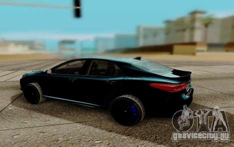 Toyota Camry 2018 для GTA San Andreas