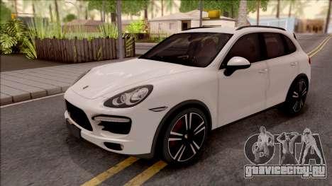 Porsche Cayenne Turbo 2013 Single Version для GTA San Andreas
