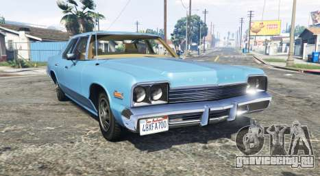 Dodge Monaco 1974 v2.0 [replace] для GTA 5