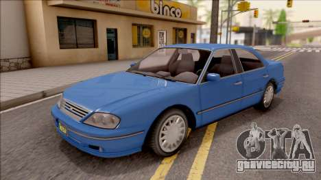 GTA IV Willard Solair Sedan IVF для GTA San Andreas