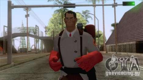 Team Fortress 2 - Medic Skin v2 для GTA San Andreas