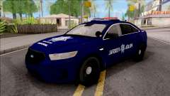 Ford Taurus 2013 Mexican Police