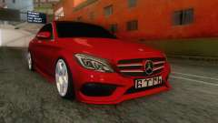 Mercedes-Benz C250 Stance для GTA San Andreas