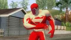 Eletric Superman Skin v1 для GTA San Andreas