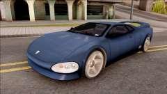 Infernus from GTA III HD для GTA San Andreas