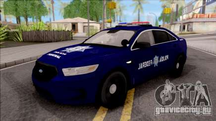 Ford Taurus 2013 Mexican Police для GTA San Andreas