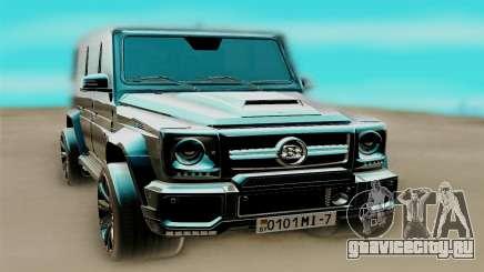 Mercedes-Benz G63 AMG чёрный для GTA San Andreas