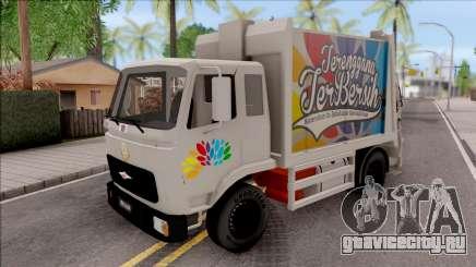 FAP MBKT Terengganu City Garbage Compactor Truck для GTA San Andreas