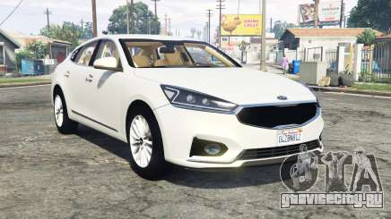Kia Cadenza (YG) 2017 [replace] для GTA 5