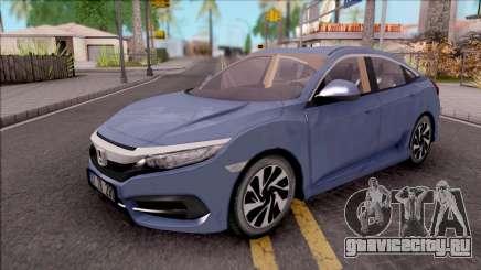 Honda Civic FC5 Low Poly with Led Lights для GTA San Andreas