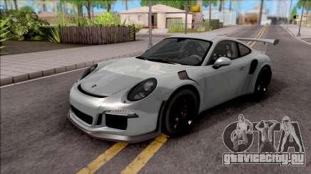 Porsche 911 GT3 RS 2016 SA Plate для GTA San Andreas