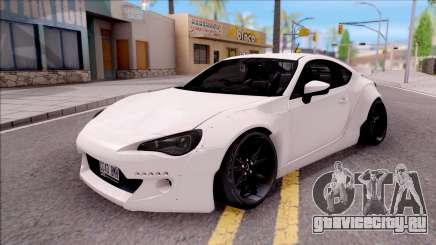 Subaru BRZ Rocket Bunny 2013 для GTA San Andreas