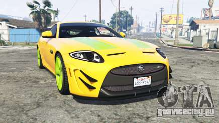 Jaguar XKR-S GT (X150) 2013 v1.1 [replace] для GTA 5