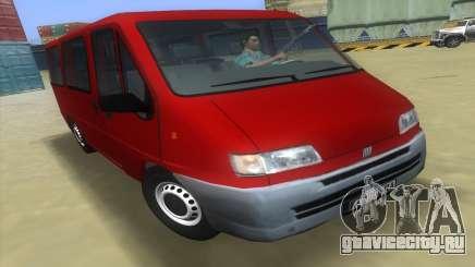 Фиат Дукато Мк2 1999 для GTA Vice City