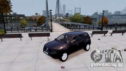 Renault Duster чёрный для GTA 4