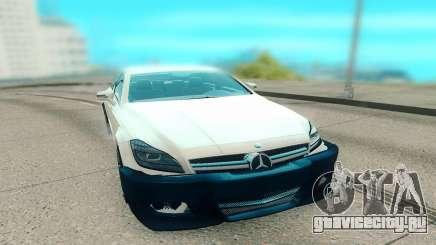 Mercedes-Benz CLS 63 AMG белый для GTA San Andreas