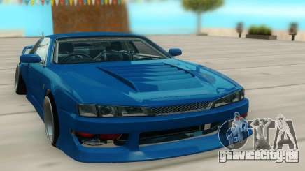 Nissan Silvia S14 синий для GTA San Andreas