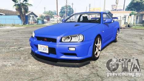 Nissan Skyline GT-R (BNR34) [add-on] для GTA 5