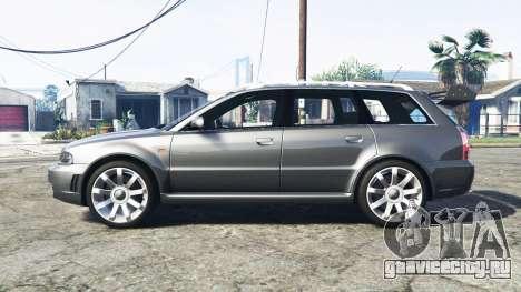 Audi RS 4 Avant (B5) 2001 v1.2 [add-on] для GTA 5 вид слева