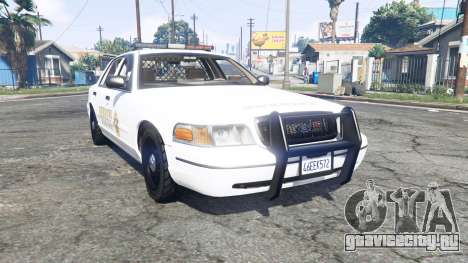 Ford Crown Victoria 1999 Sheriff v1.2 [replace] для GTA 5