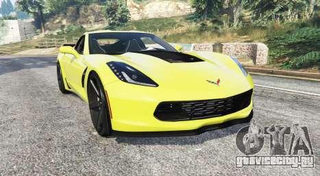 Chevrolet Corvette Z06 (C7) [replace] для GTA 5