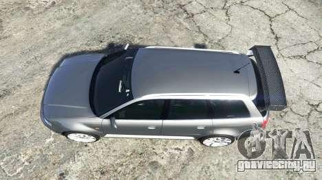 Audi RS 4 Avant (B5) 2001 v1.2 [add-on] для GTA 5 вид сзади