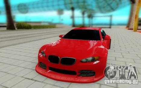 BMW M3 GTS для GTA San Andreas вид справа