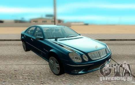 Mercedes-Benz E55 W211 AMG для GTA San Andreas