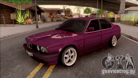 BMW E34 520i Sedan Stance Version для GTA San Andreas