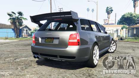 Audi RS 4 Avant (B5) 2001 v1.2 [add-on] для GTA 5 вид сзади слева