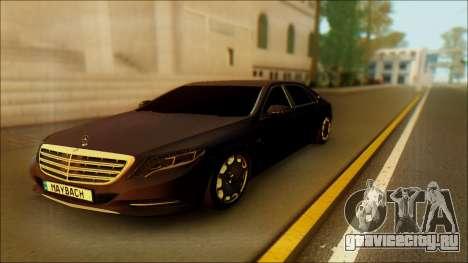 Mercedes-Benz Maybach для GTA San Andreas