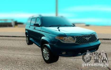 UAZ Patriot для GTA San Andreas