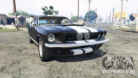 Ford Mustang GT500 1967 v1.2 [replace] для GTA 5