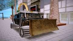 Hummer H3 чёрный для GTA San Andreas
