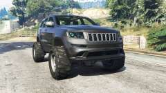 Jeep Grand Cherokee SRT8 2013 v0.5 [replace] для GTA 5