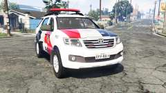 Toyota Fortuner 2014 brazilian police [replace]