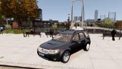 Subaru Forester 2008 Karelian Edition для GTA 4
