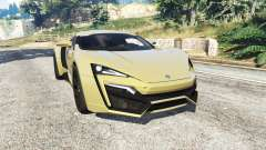 W Motors Lykan HyperSport 2014 v1.3 [add-on] для GTA 5