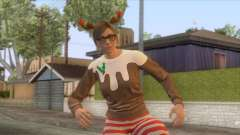 Festive Surprise DLC Female Skin для GTA San Andreas
