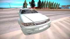Toyota Mark 2 серебристый для GTA San Andreas