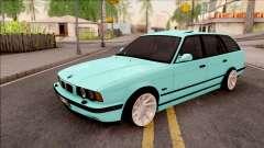 BMW 5-er E34 Touring Stance Vossen для GTA San Andreas