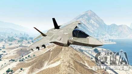 Lockheed Martin F-35B Lightning II [replace] для GTA 5