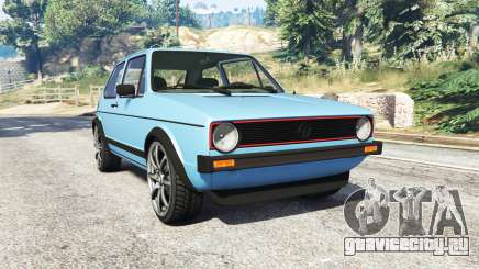 Volkswagen Golf GTI Mk1 [replace] для GTA 5